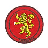 Cobra Tactical Solutions Military Patch Game of Thrones Lannister avec Fermeture Velcro pour Airsoft/Paintball