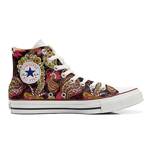 Converse all star chaussures personnalisé style vintage paysley artisanat de produit)