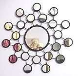 Flourish concept Decorative Mirror (blac...