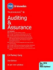Auditing & Assurance-(CA-Intermediate)(For November 2018 Exams-New Syllabus)