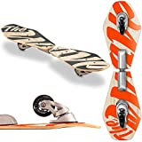 Street surfing Wave Rider legno Casterboard, Wave Rider, Signature