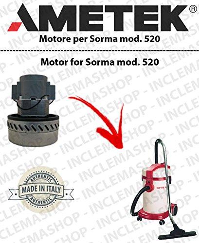 Sorma 520Saug Motor Ametek für Staubsauger