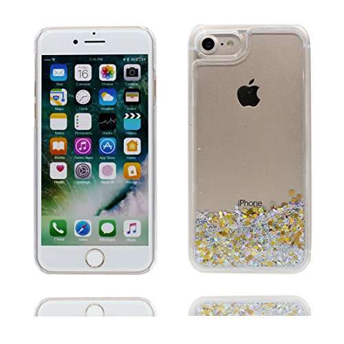 """iPhone 6 Plus Coque, Bling Glitter Flowing Funny Silicone Ultra Slim, Case iPhone 6s Plus Étui 5.5"""", Shock Dust Resistant Shell iPhone 6 Plus Cover 5.5"""" Elegance # 6"""
