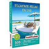DAKOTABOX - Coffret Cadeau - ESCAPADE RELAX EN DUO - hôtels 3* à 5*, châteaux et domaines