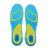Zooarts 1 pair Gel Orthotic Work Sports Running Insoles For Women Men (Women(UK 5-8))
