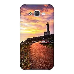 Mobile Back Cover For Samsung Galaxy J7 2015 (Printed Designer Case)