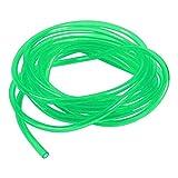 Takestop® Tubo Transparente Verde Acrílico 16mm x 2mt Tubo Cable flexible para aereatori Aire Agua Acuario Estanque Bomba Filtro líquidos