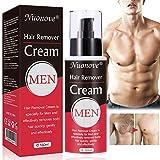 Enthaarungscreme, Haarentfernungscreme, Hair Removal Cream, Enthaarungsmittel Schmerzlose für Bikini/Unterarm/Brust/Rücken/Beine/Arm und Privater Bereich, für Männer, 160ml