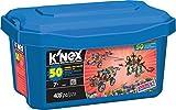 K 'nex 33122–Building Set–50Model Big Value–408Pieces–7+–Diseño y de construcción de juguete