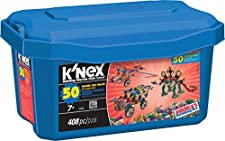 K'NEX 33122 - Building Set - 50 Model Big Value - 408 Pieces - 7+ - Bau- und Konstruktionsspielzeug