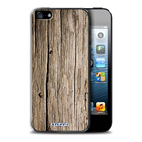 STUFF4 Phone Case / Cover for Apple iPhone 6S / Walnut Design / Wood Grain Effect/Pattern Collection Boisflotté