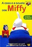 miffy #04 - a casa e a scuola con miffy (dvd+booklet) es.iva dvd Italian Import