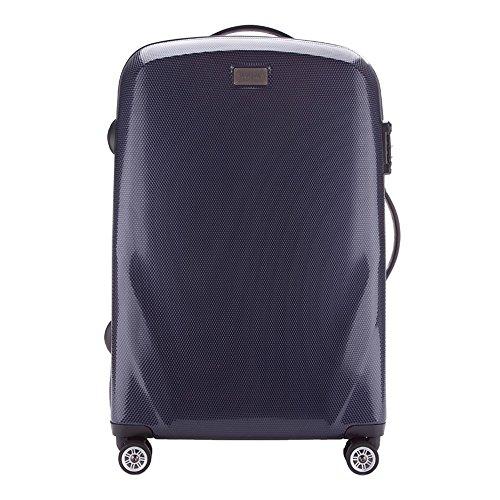 WITTCHEN Mittlerer Koffer | Farbe: Marine blau | Material: Polycarbonat | Größe: 68 x 46 x 23 cm | Gewicht: 3.9 KG | Kapazität: 64 L | Sammlung: PC Ultra Light | 56-3P-572-90