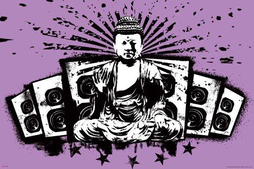 empireposter - Buddha - Speakers - Größe (cm), ca. 91,5x61 - Poster, NEU -