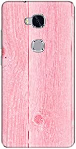 The Racoon Lean printed designer hard back mobile phone case cover for Huawei Honor 5x. (Pin Painte)