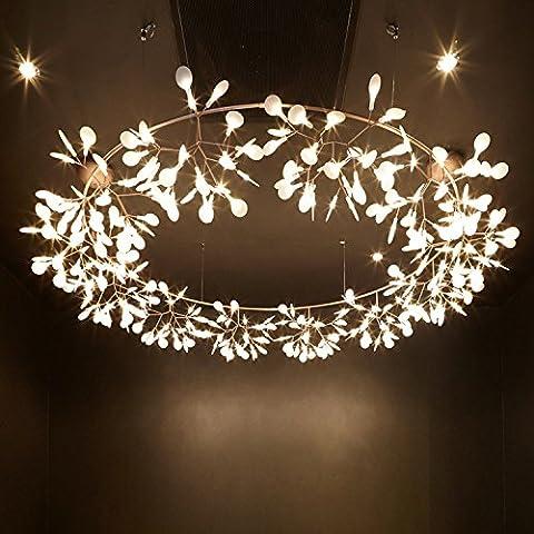 Lustre lustres lustre de la direction générale de l'art des lucioles cherry blossom lampe à DEL, diamètre 980*350mm