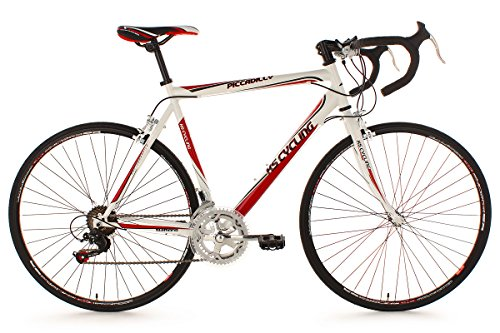 KS Cycling Piccadilly Vélo de course Blanc 28""