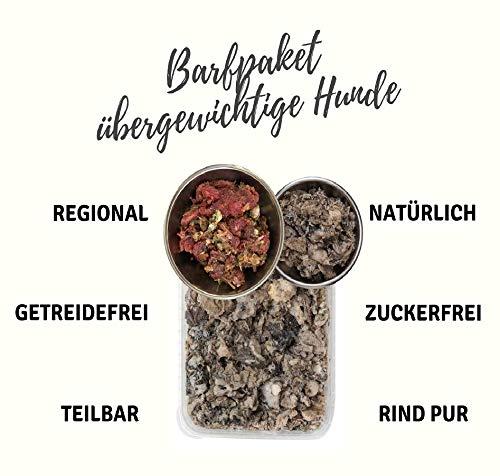 feedmeat-Barfpaket-fr-Dicke-Hunde-Regionales-und-Glutenfreies-Hundefutter-22x-500g-Komplettmixe-und-Einzelkomponenten