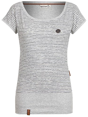 Naketano Female Shortsleeve Wolle Dizzy Grey Melange
