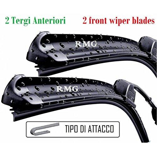 RMG F99#1 Coppia 2 spazzole tergicristallo anteriori per 147 Prodotta dal anno 2000 al 2005 Misure spazzole 55 e 40 cm