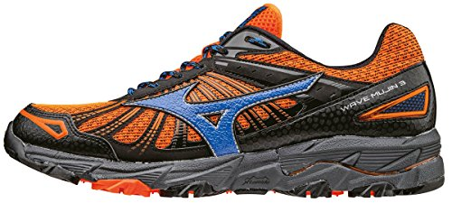 Mizuno Wave Hitogami 4, Chaussures de Running Compétition Homme Orange (Clownfish/strong Blue/dark Shadow)