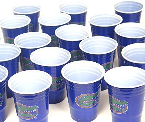 Florida Gators Grill Cookut 4. Juli Jumbo Party Tassen Set von 36. Große Kunststoff Colorful 18oz, Spiel Tag Kunststoff Tassen. (4. Von Juli-party-spiele)