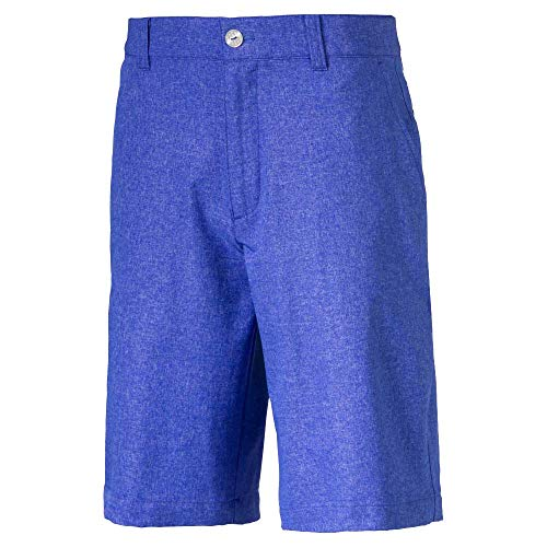 Puma Jungen 2018 Heather Pounce Short, Dazzling Blue, x Small - Puma Junior Cell