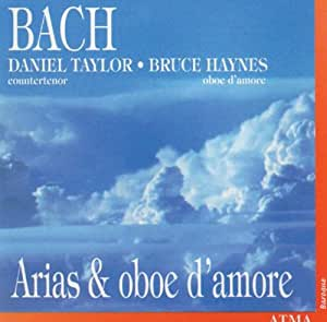 Bach: Arias for Oboe d'Amore
