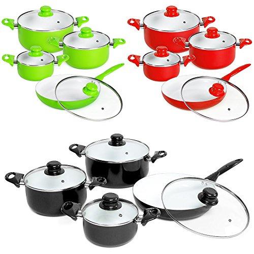 tectake-8-piece-ceramic-cooking-pots-lids-pan-pot-saucepan-cookware-set-different-colours-black