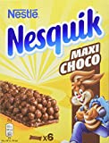 Nestlé Nesquik Maxi Choco - Barres de Céréales - 6 barres de 25g