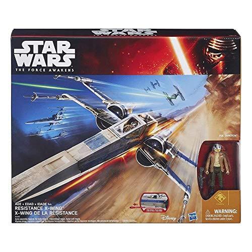 Star Wars Episode VII Fahrzeug mit Figur 2015 Resistance X-Wing Exclusive