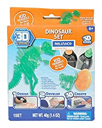 3D Maker T Rex Dino Theme Pack, Multi Color