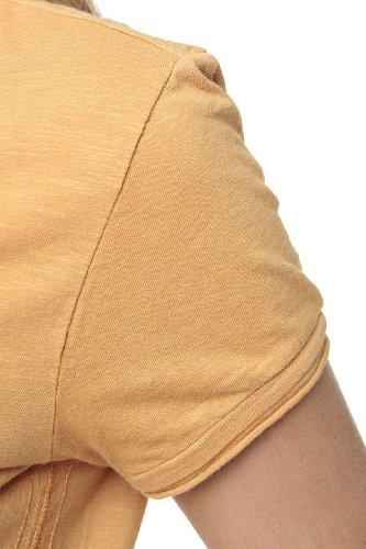 Aeronautica Militare Damen Shirt T-Shirt LOLA Orange