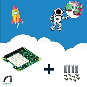 Raspberry Pi Sense HAT + Kit de montage avec entretoises