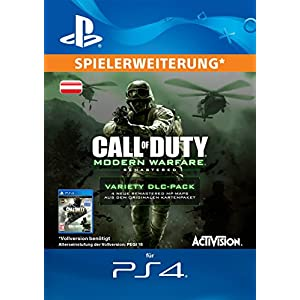 Call of Duty: Modern Warfare Remastered Variety Map Pack Edition DLC [PS4 Download Code – österreichisches Konto]