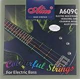 Alice 1 Satz farbige E Bass Saiten 609C