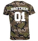 Die besten Brother T Shirts - SE-creation Brother mit Sister Partner Pärchen T-Shirt in Bewertungen