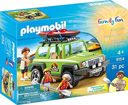 Playmobil 9154 Camp tout-terrain Multicolore - Version Allemande