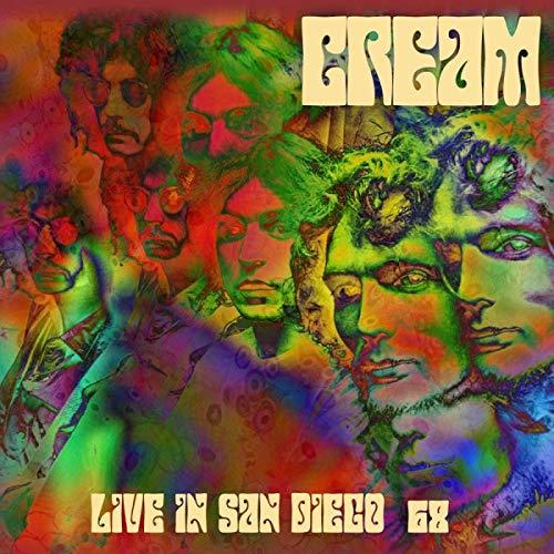 Live in San Diego '68 Cream Music Box
