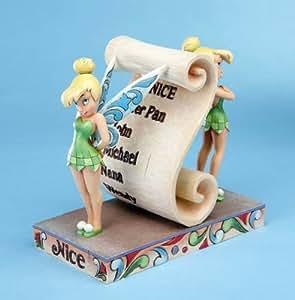 Figurines Disney de collection – Fée Clochette parchemin (enesco)