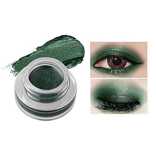 Fards à paupières gel,15 couleurs Imperméable à l'eau eyeliner gel eye liner-Lonshell (15#)