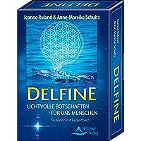 Delfine - Lichtvolle Botschaften für uns Menschen: 56 Karten mit Begleitbuch