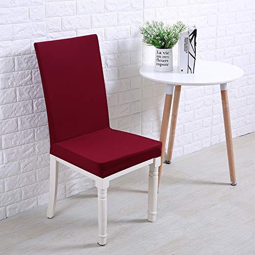 Striscia ispessimento elastico code yard dadi rosso,coprisedie con schienale elasticizzato stampa floreale vestisedia moderno universale fodera per sedie copertura della sedia sala da pranzo