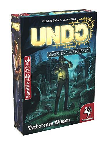 Pegasus Spiele 18175G - UNDO - Verbotenes Wissen