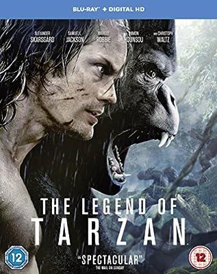 The Legend of Tarzan [Blu-ray] [2016] [Region Free]