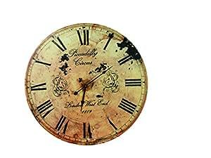 Arredo orologio oob muro piccadilly circus 1819 cm for Orologio legno amazon