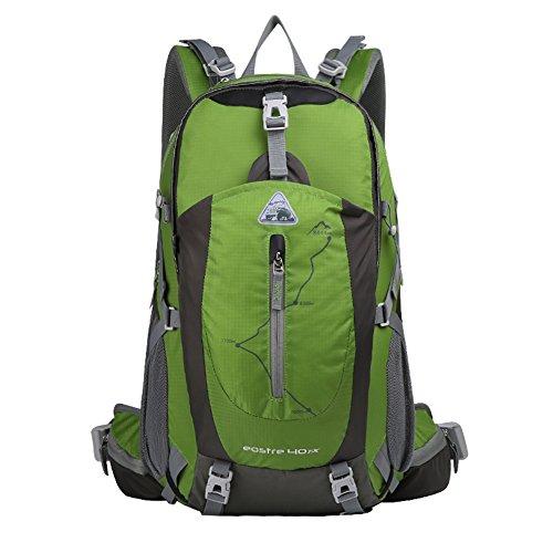 Bergsteigen Tasche / Schultertasche / große Kapazität wasserdichten Outdoor-Wanderrucksack / Freizeit Sporttasche / Reise Camping Rucksack-grün 40L grün
