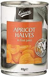 Epicure Apricot Halves in Fruit Juice, 411g
