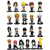 Figura de acción: Naruto Cute Figures Playset 21 PCs 2 inch