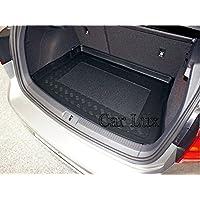 Car Lux AR03825 - Alfombra Cubeta Protector cubre maletero a medida con antideslizante para Golf VII desde 2012